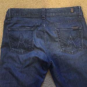 7 FAM A-Pocket Jeans 31-34